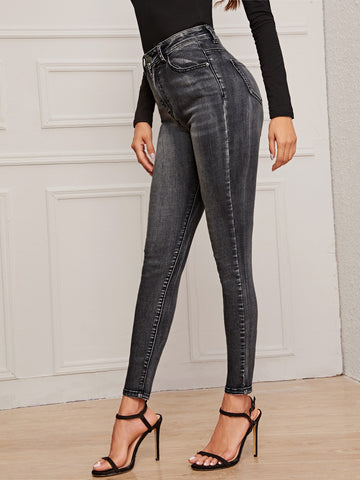 Dark Wash Skinny Jeggings