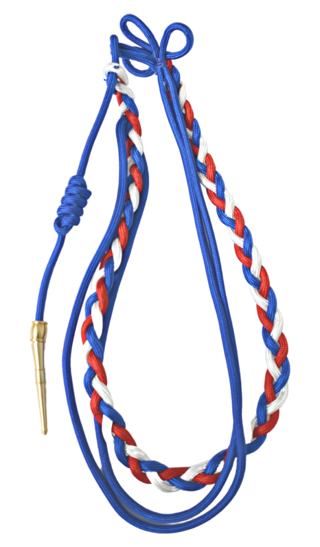 Citation Cord - Red, White, and Blue
