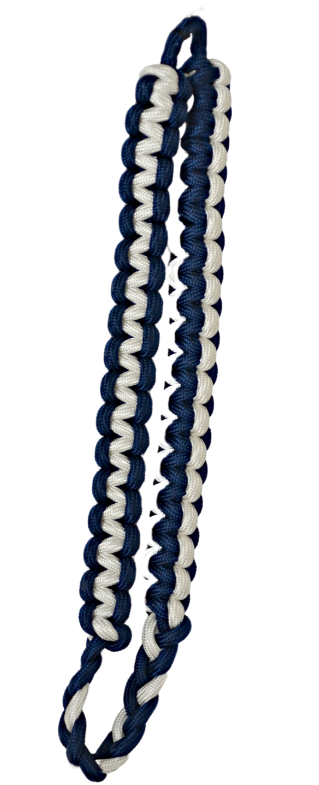Two Color Button Loop Cord