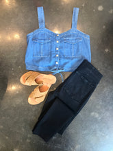 Load image into Gallery viewer, PALM DESERT DENIM TOP