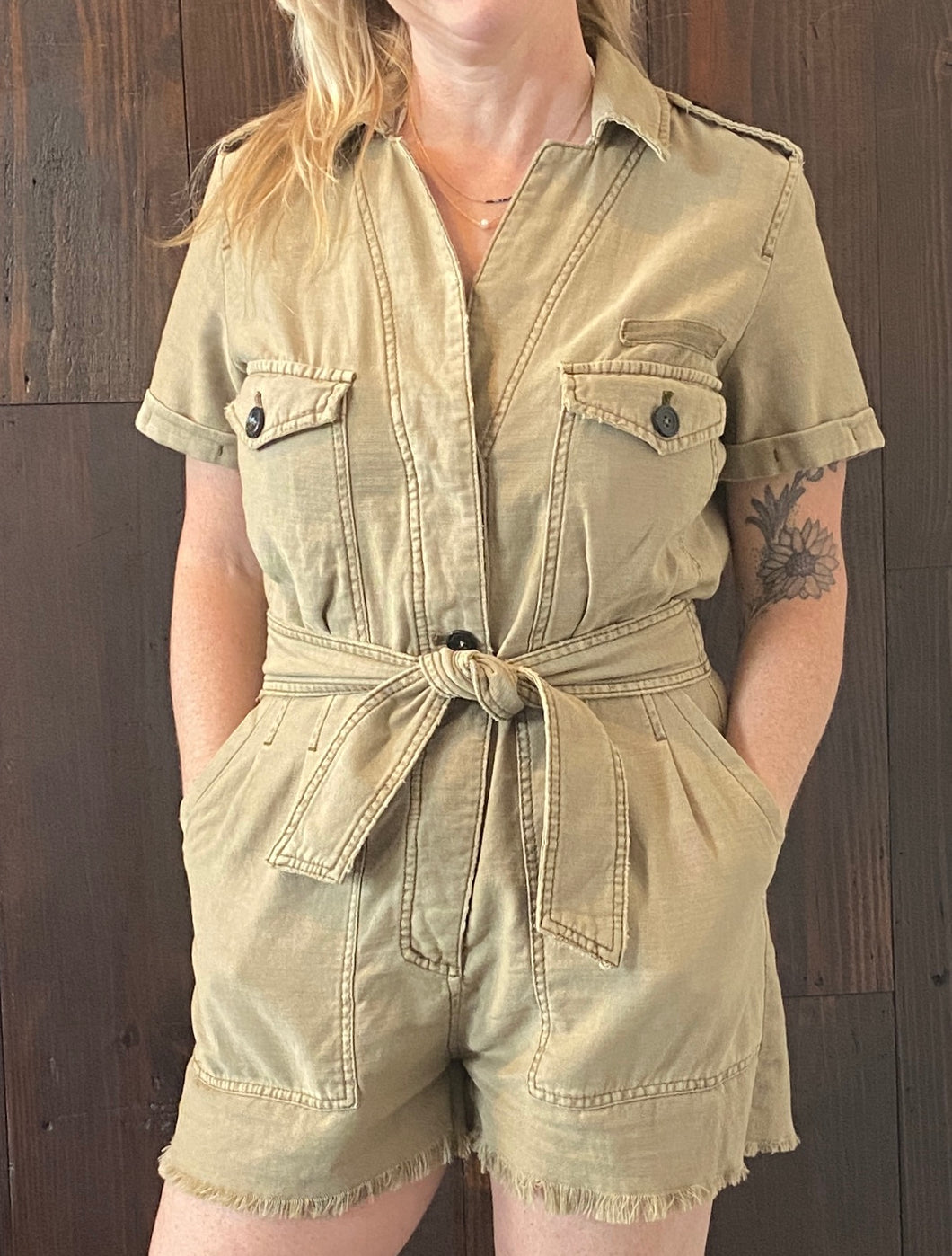 OFF THE BEATEN PATH ROMPER