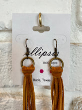 Load image into Gallery viewer, Knot Fringe Earrings
