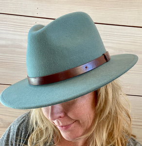 MESSER FEDORA - CYPRESS/BROWN