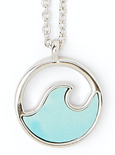 Load image into Gallery viewer, STONE WAVE NECKLACE