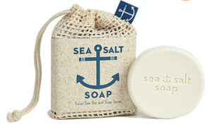 SEA SALT TRAVEL SIZE BAR & BAG