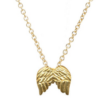 Load image into Gallery viewer, GUARDIAN ANGEL NECKLACE GOLD DIPPED