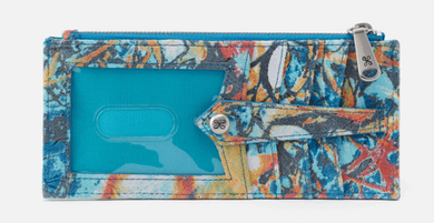 LINN Credit Card Wallet in SUMMERTIME ABSTRACT