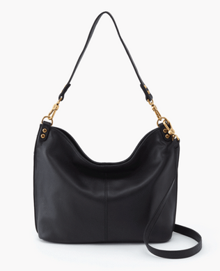 PIER Crossbody Shoulder Bag in BLACK