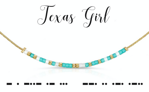 TEXAS GIRL NECKLACE