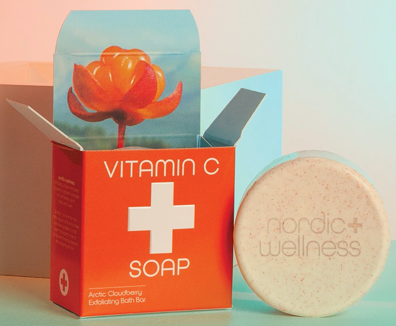 NORDIC + WELLNESS VITAMIN C SOAP