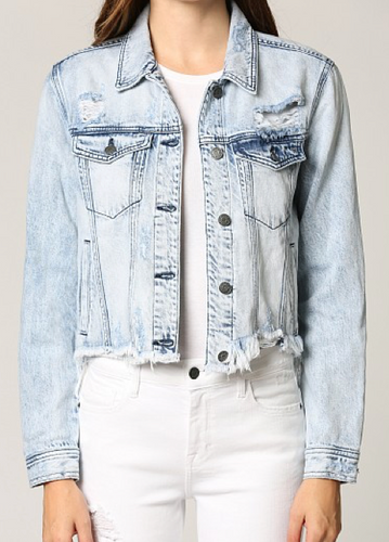 THE REBEL SUPER LIGHT BLUE JACKET