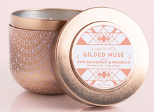 Load image into Gallery viewer, PINK GRAPEFRUIT & PROSECCO GILDED TIN