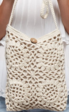FLOWER BOX CROCHET CROSSBODY