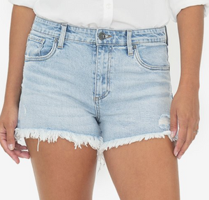 JANE HIGH RISE SHORT IN ADRENALINE WASH
