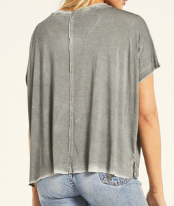 Mischa Sleek V-Neck Tee
