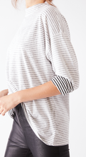 Load image into Gallery viewer, We The Free Be Free Stripe Tunic