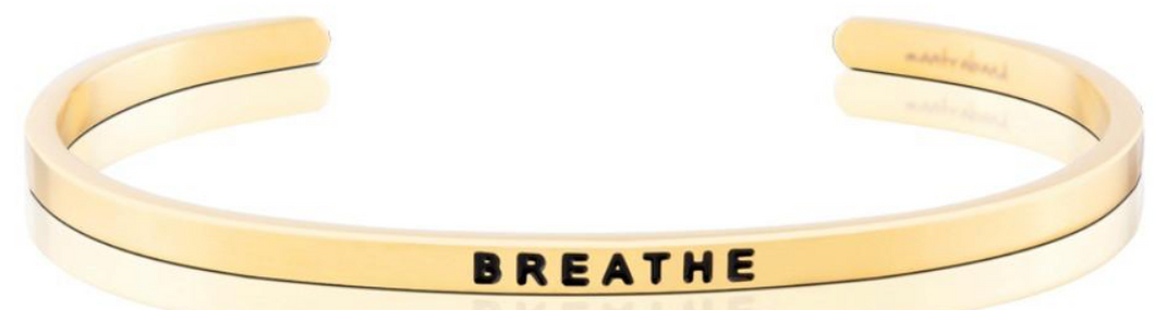 Breathe - Gold