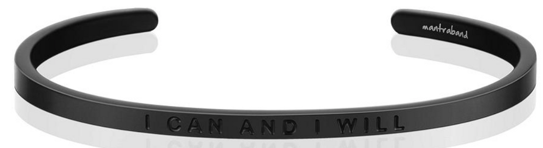 I Can And I Will - Matte Black