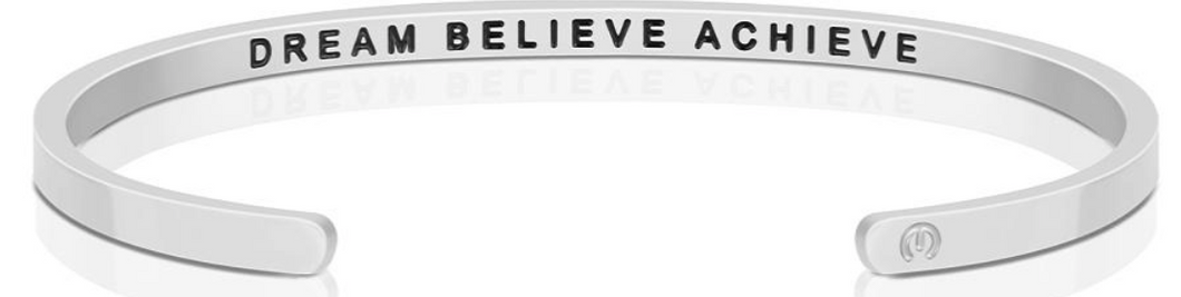 Dream Believe Achieve (within) - Silver