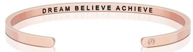 Dream Believe Achieve (within) - Rose Gold