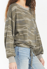 Load image into Gallery viewer, Sadye Camo Crew