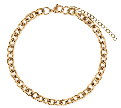 Ellie Vail - Claudia Rolo Chain Anklet