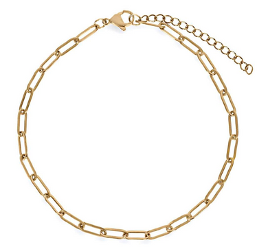 Ellie Vail - Ilana Oval Chain Anklet