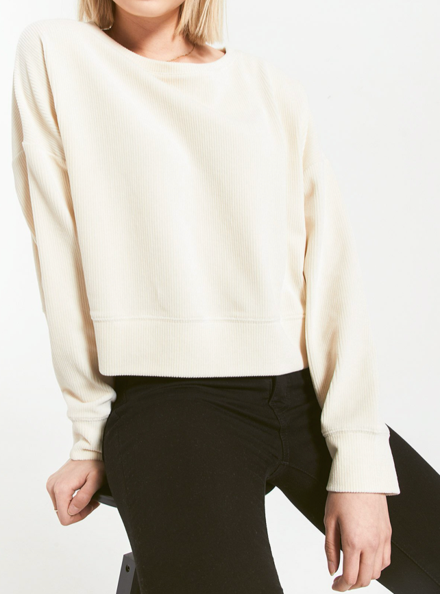 Astrid Cord Pullover