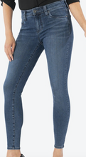 Load image into Gallery viewer, Connie Mid Rise Black Ash Skinny