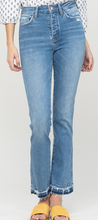 Load image into Gallery viewer, Battle Scars High Rise Straight Jeans