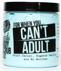 Can't Adult Sugar Scrub