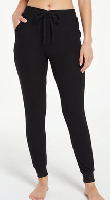 The Marled Jogger in Black