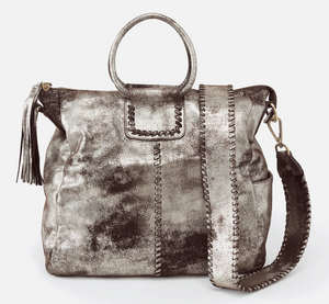 Sheila Travel Bag in Heavy Metal