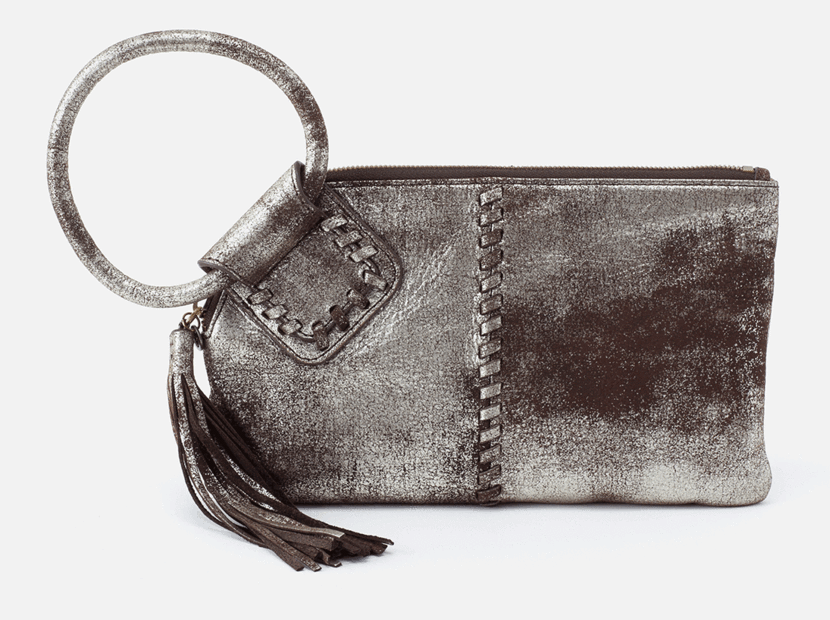 Sable Wristlet in Heavy Metal