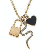 Load image into Gallery viewer, Brinkley Charm Necklace