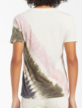 Load image into Gallery viewer, Easy Stripe Tie-Dye Tee