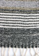 Load image into Gallery viewer, Stripe Fringe Scarf