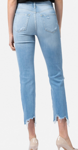 Lani High Rise Straight Jeans