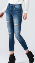 Load image into Gallery viewer, Campfire Mid Rise Ankle Skinny Jeans