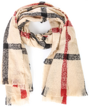 Load image into Gallery viewer, Stripe Pattern Scarf