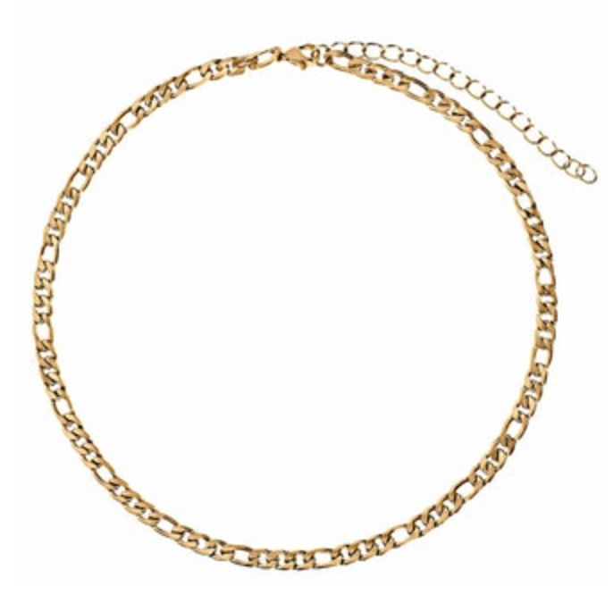 Zara Figargo Chain Choker Necklace
