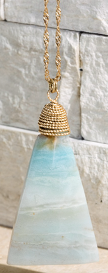 Natural Stone Amazonite Pendant