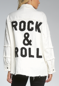 Rock and Roll White Jacket
