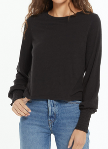Lyla Slub Long Sleeve Tee
