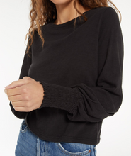 Load image into Gallery viewer, Lyla Slub Long Sleeve Tee