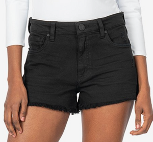 Jane High Rise Shorts in Black