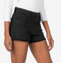 Load image into Gallery viewer, Jane High Rise Shorts in Black