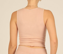 Load image into Gallery viewer, Blush Ribbed Tank
