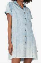 Load image into Gallery viewer, Vittoria Shirt Dress