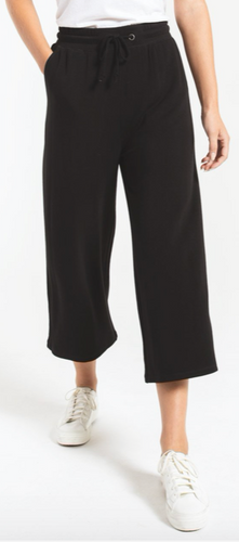 FLEECE CROP PANTS